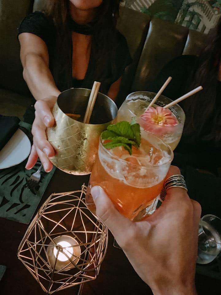 Both places offer the same cocktail menu, cheers!