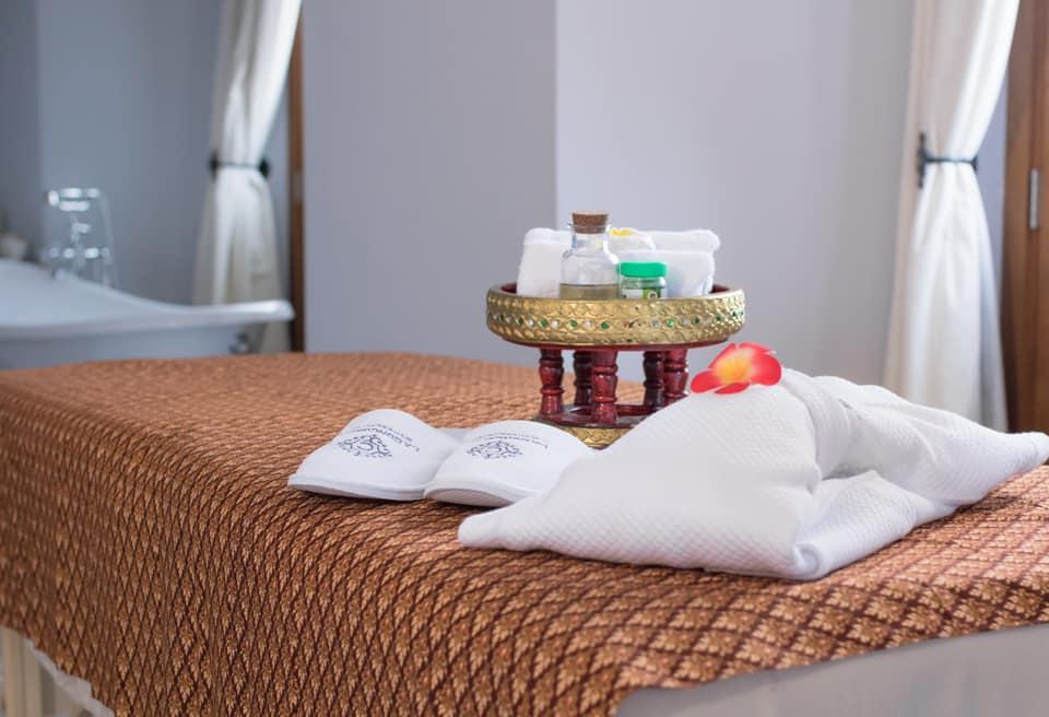 Los masajes se pueden hacer en la habitación