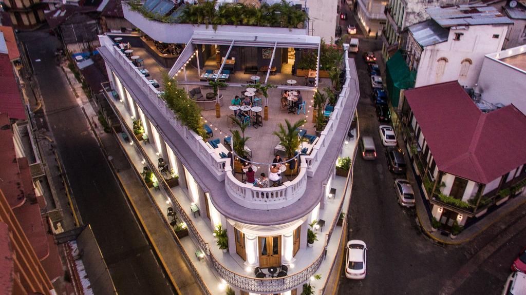 Numen Gastro Lounge es el bar de la azotea del Hotel La Concordia