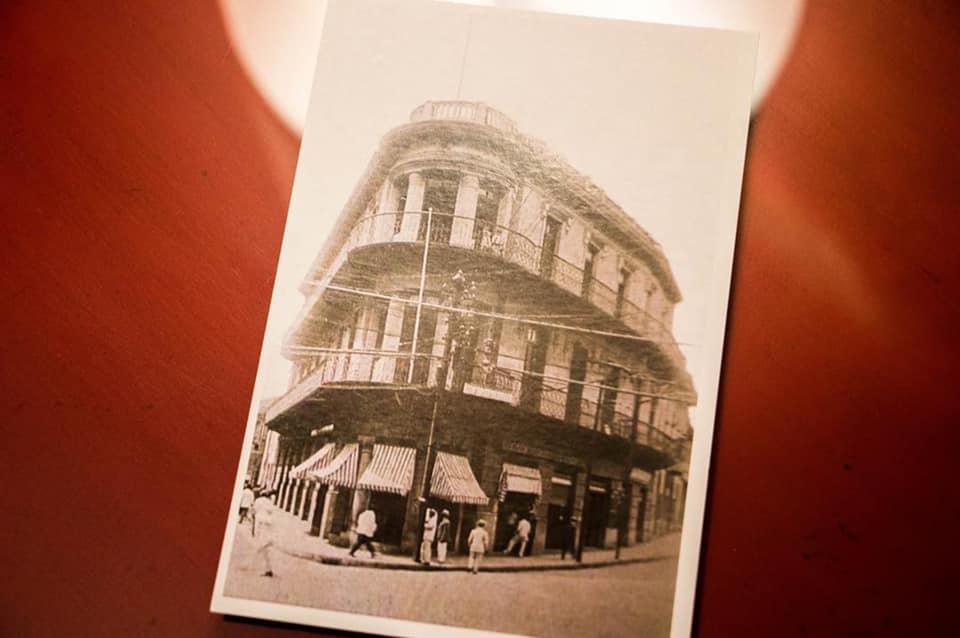 Las primeras referencias históricas al sitio donde se encuentra hoy el Hotel La Concordia son del mapa realizado por la compañía ferroviaria en 1857.