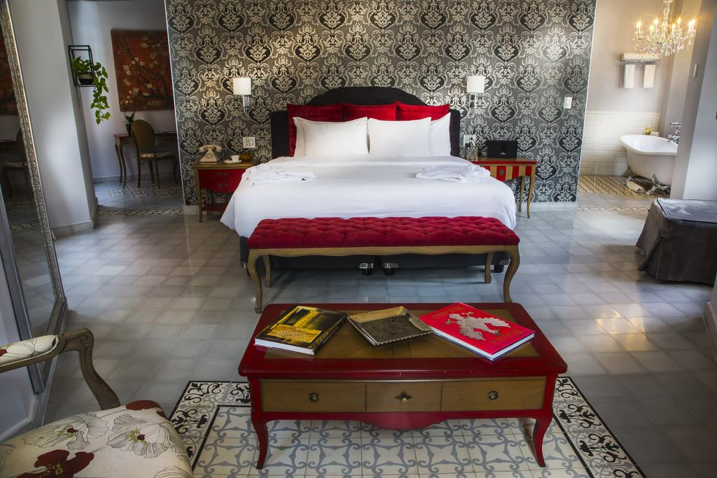 Las suites son las más espaciosas de todas las habitaciones en La Concordia Hotel