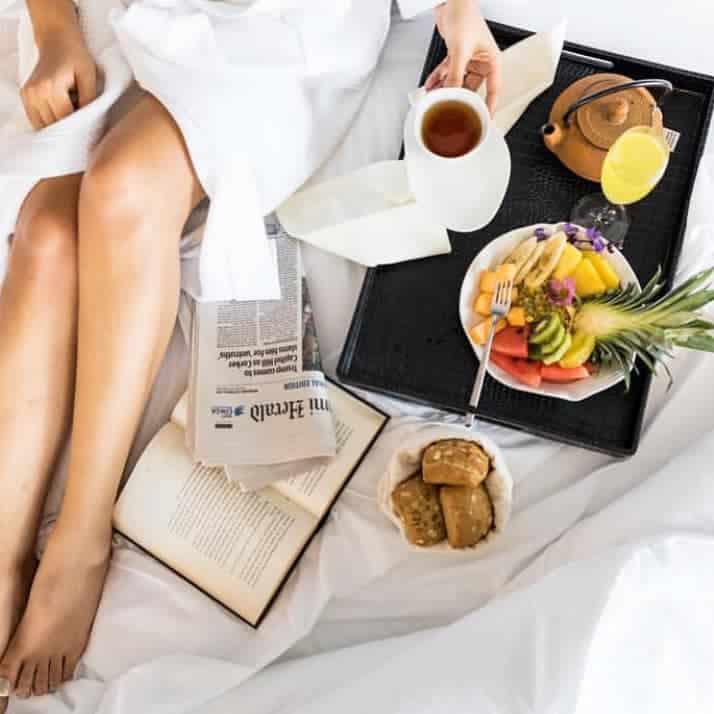 Breakfast in bed  at La Concordia Boutique Hotel