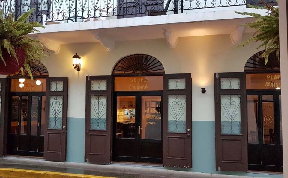 Lesseps Bistro Cafe is located on Avenida A and Calle 4