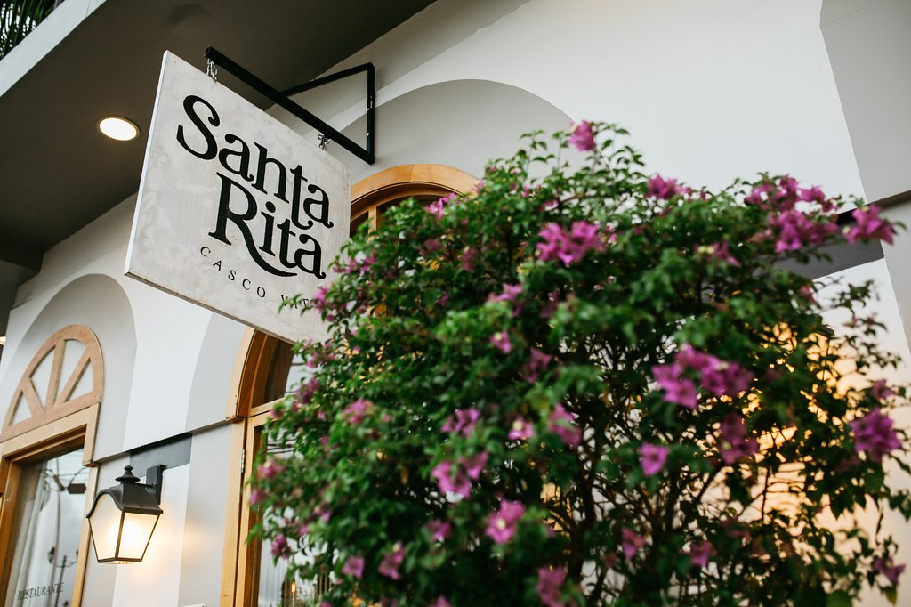 Spain and Argentina combined to create Santa Rita Restaurant