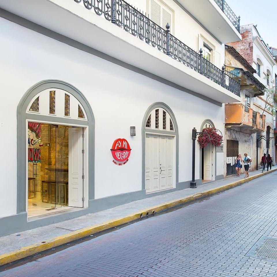 Ay Mi Negra's first branch is located on Avenida B in Casco Viejo