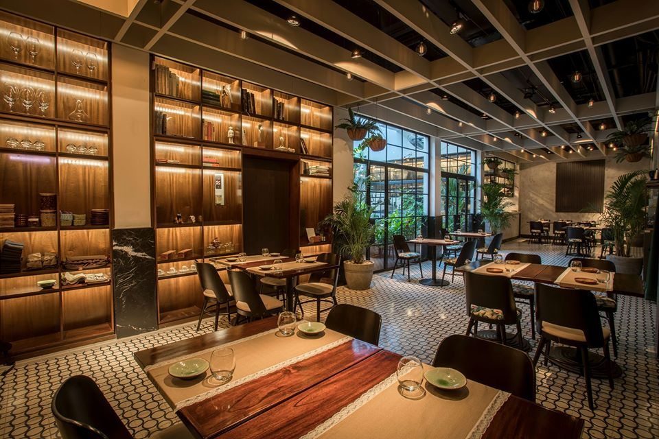 Spacious new interior of Donde Jose Restaurant with capacity for 40 diners