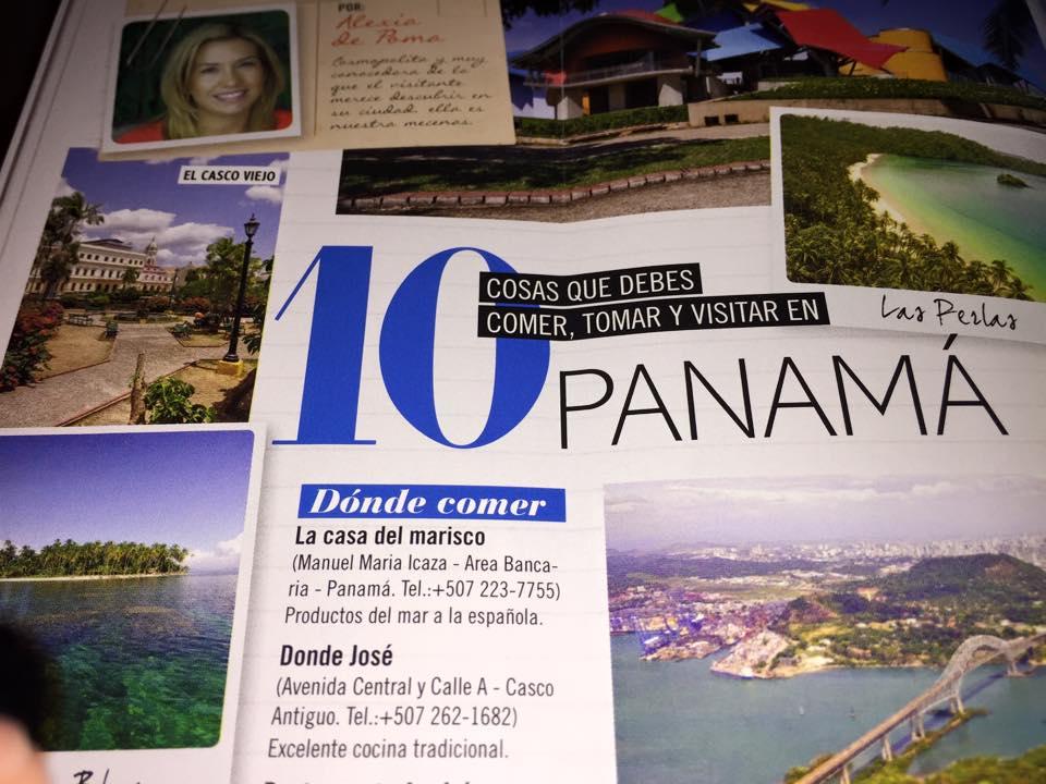 El Restaurante Donde José es bastante famoso, ha recibido muchas visitas de la prensa internacional.