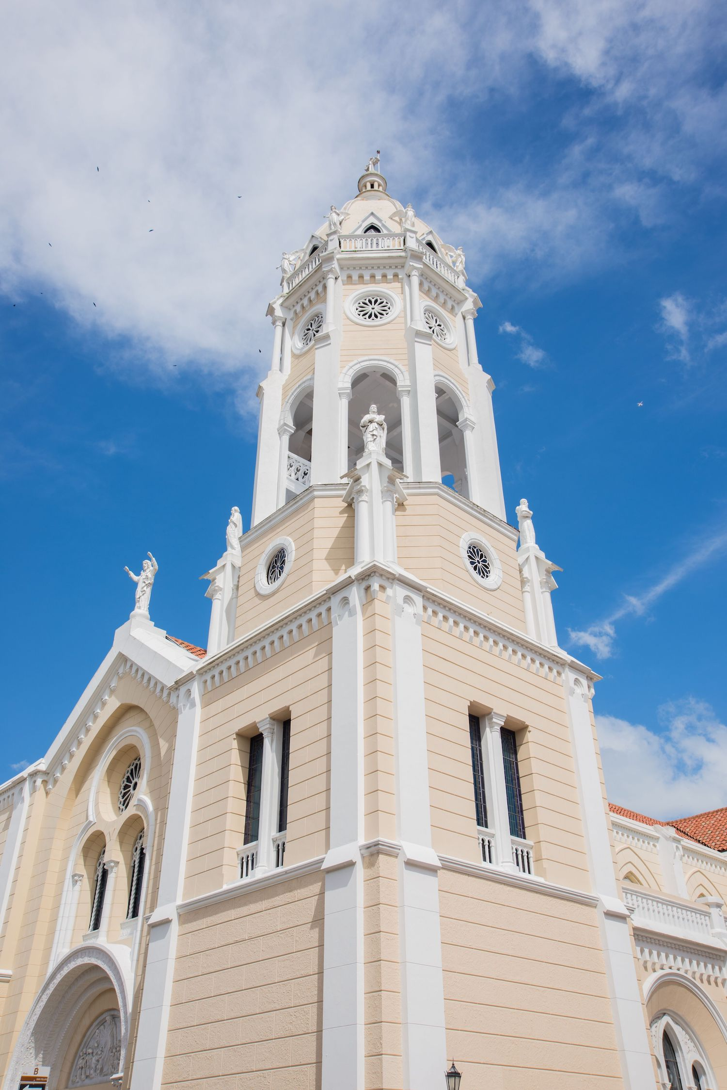 Saint Francis of Assisi Church, the highest point in Casco Viejo