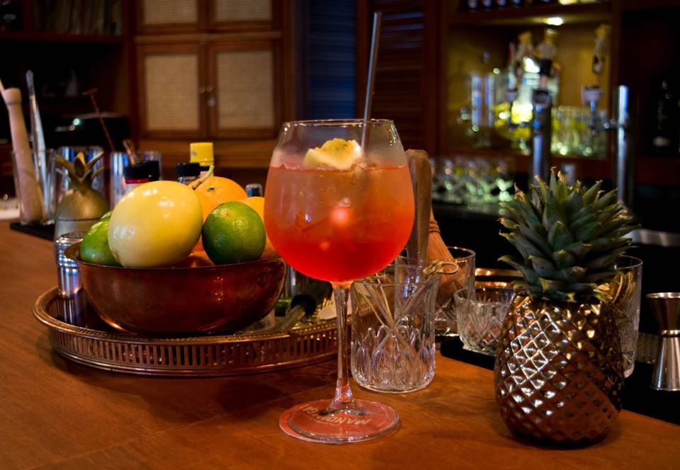 Try the house rum punch at Pedro Mandinga Rum Bar