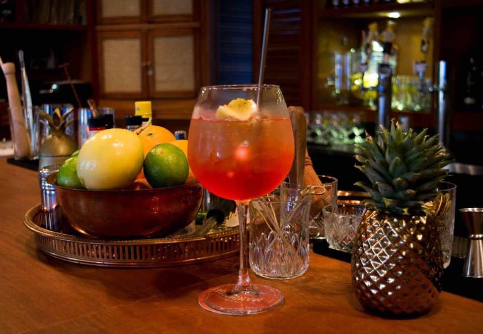 Try the house rum punch at Pedro Mandinga Rum Bar