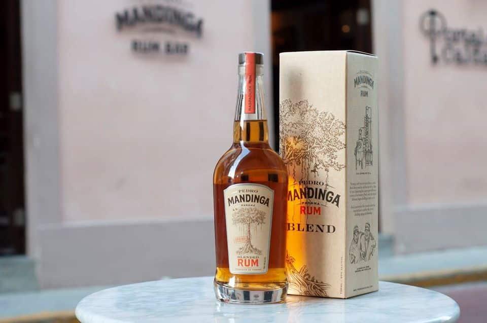 Bottle of Pedro Mandinga Rum Blend