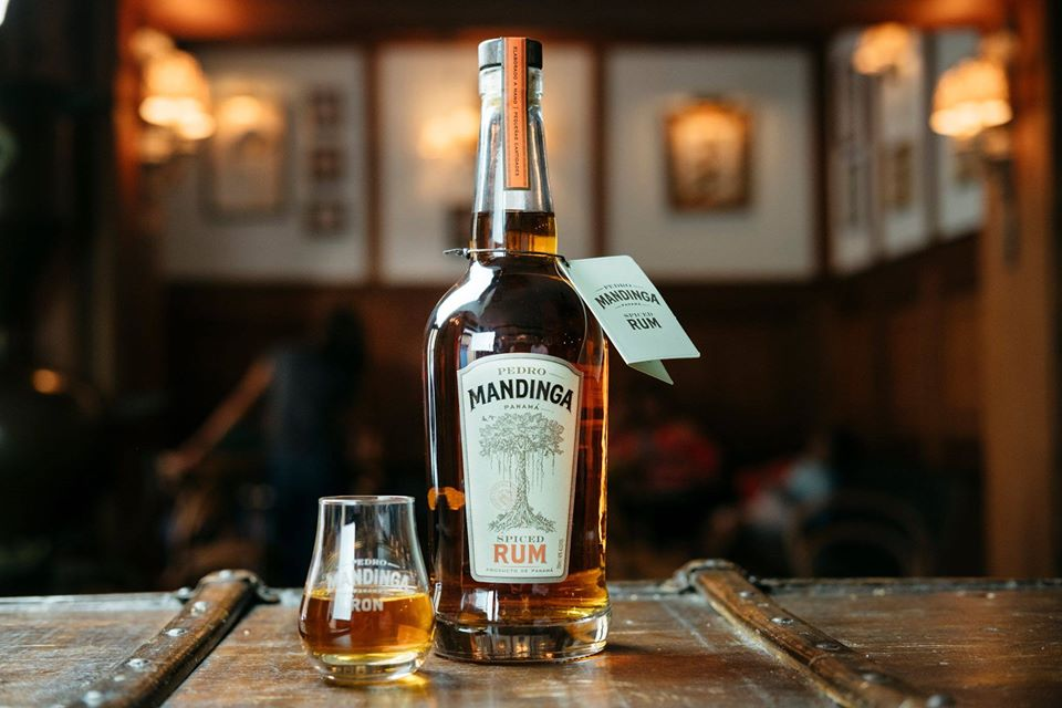 Bottle of Pedro Mandinga Spiced Rum