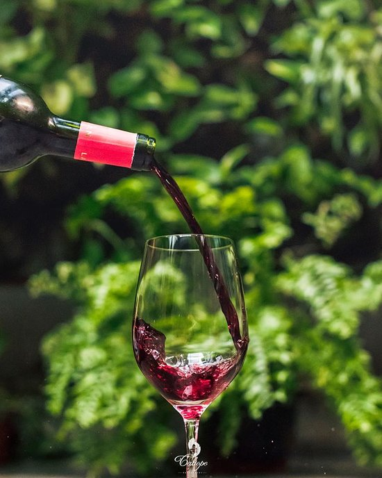 El Restaurante Caliope tiene una extensa lista de vino