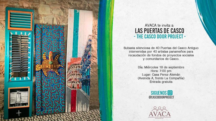 The Casco Door Project 2019 Silent Auction Invitation