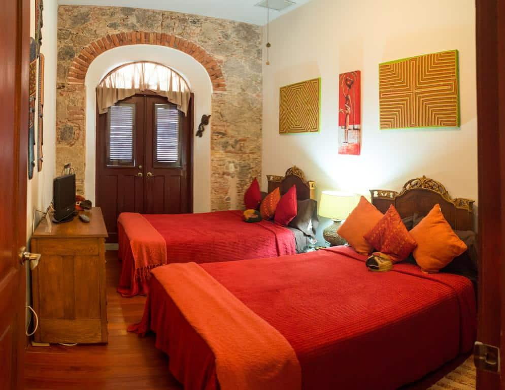 Habitación doble Embera en Casa Sucre Boutique Hotel