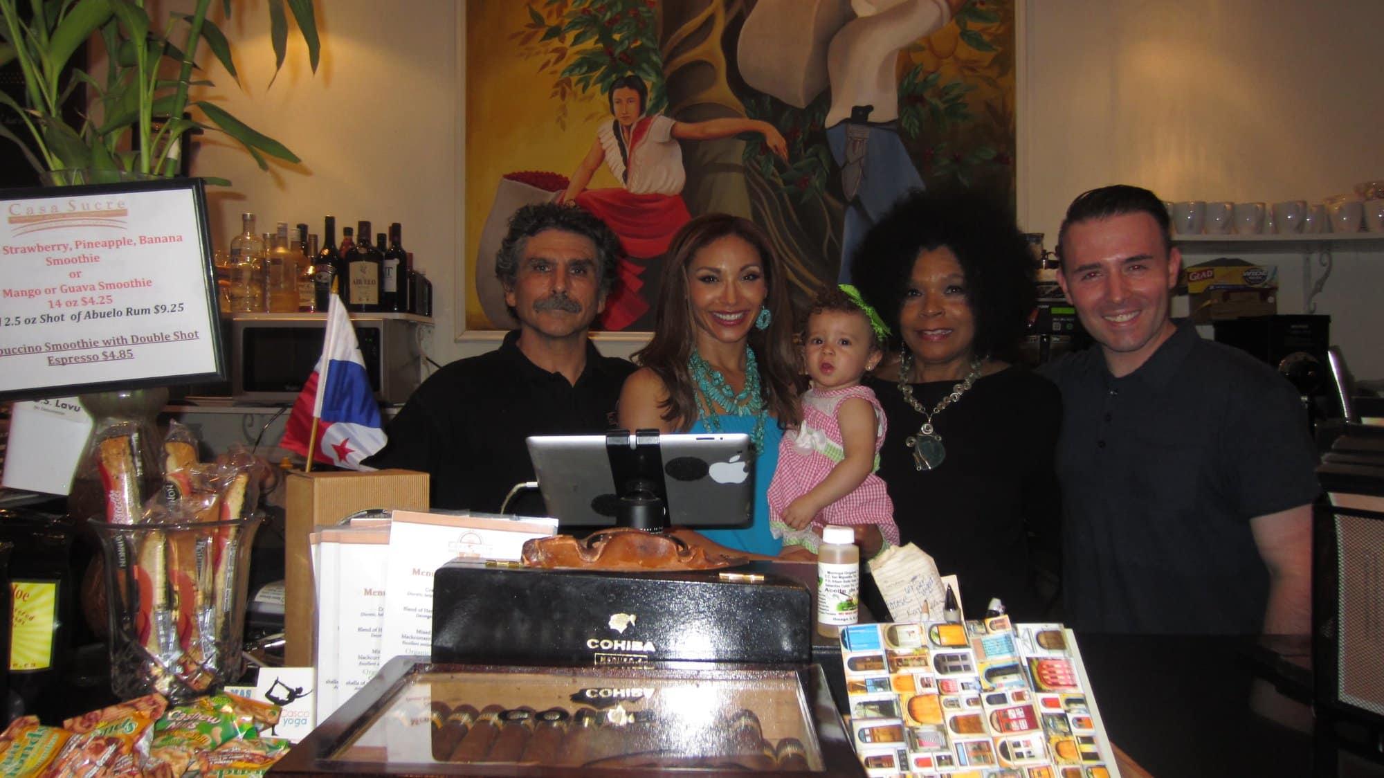 La familia Sherman lo recibirá en Casa Sucre Boutique Hotel y Coffeehouse