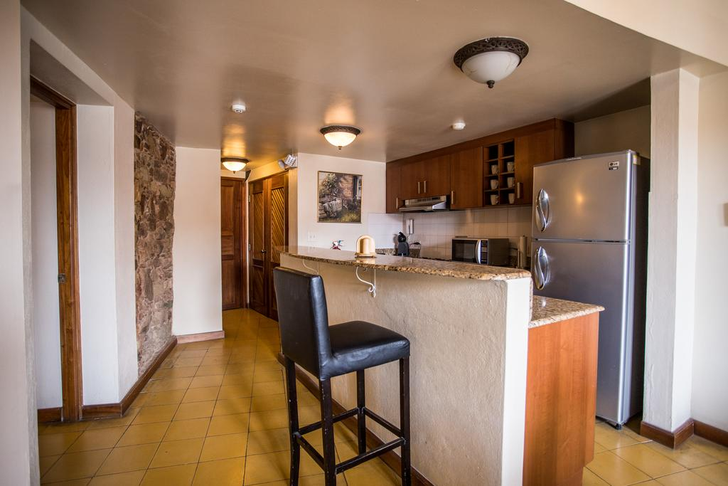 All suites at Casa Antigua Hotel have fully equipped kitchens