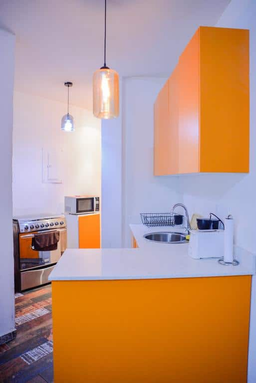 kitchen of Charming Apartment in Casco Viejo