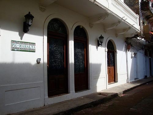 Casa Maralta is located on calle 2 in casco viejo