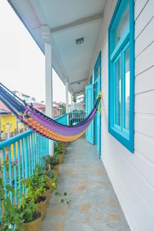 balcony of apartment 2A in Flor de Lirio  in Casco Viejo