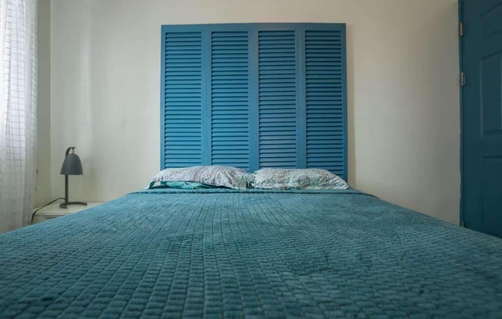 bedroom of apartment 1A in Flor de Lirio Casco Viejo