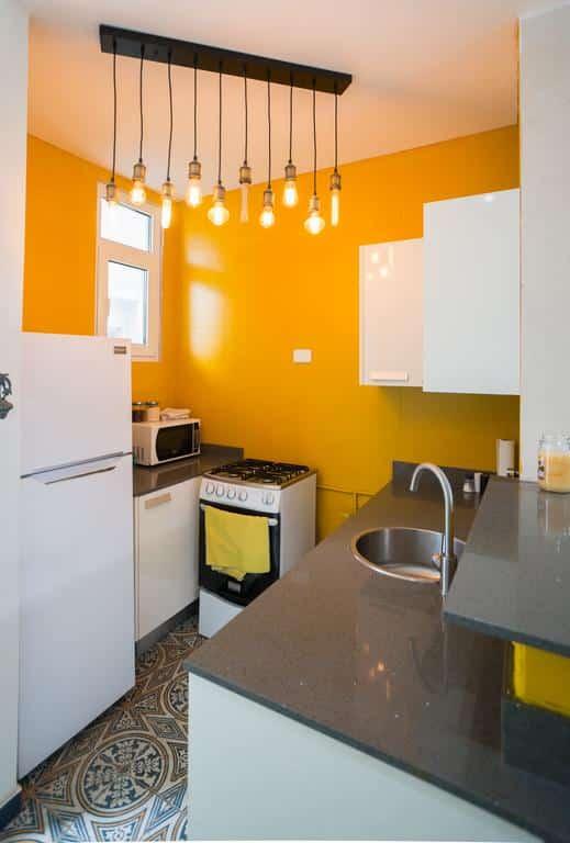 kitchen of  apartment 1A in Flor de Lirio Casco Viejo