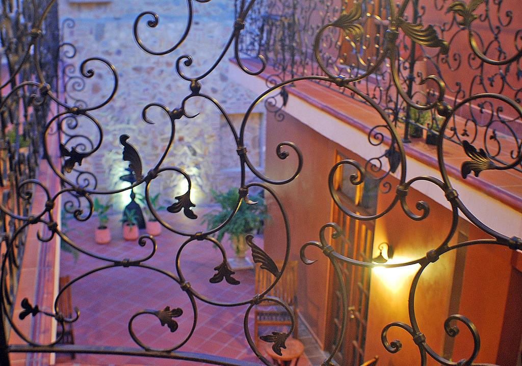 iron work of La Isabela Suites