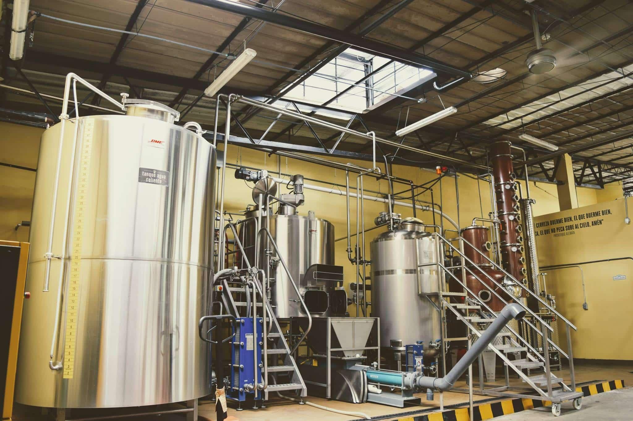 la rana dorada has its brewery in la loceria