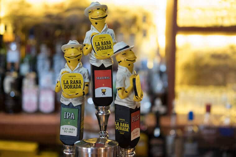 La Rana Dorada Beer Saves Endangered Frogs!