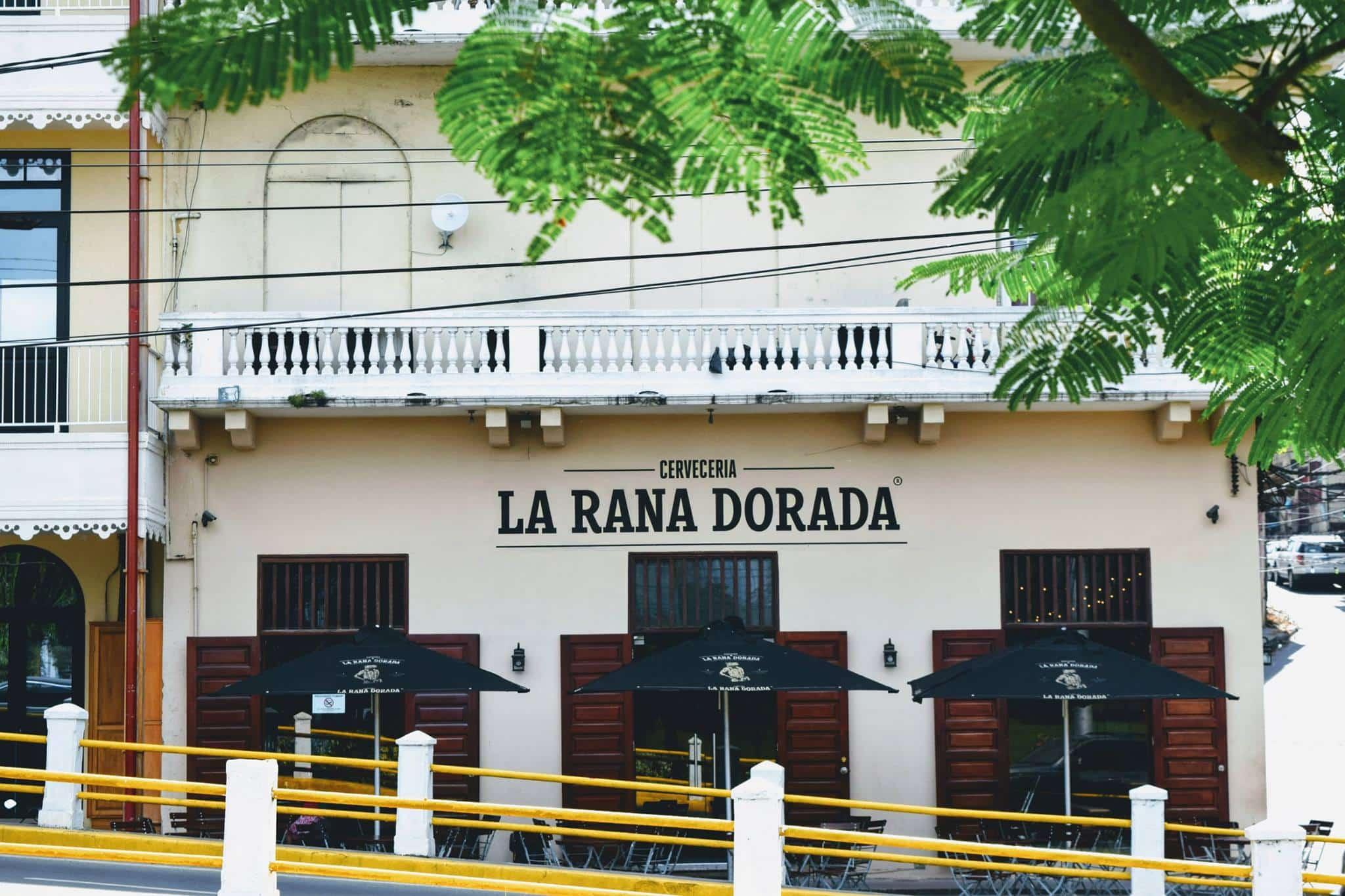 Antigua ubicación de Cervecería La Rana Dorada en Casco Viejo justo antes de la rampa