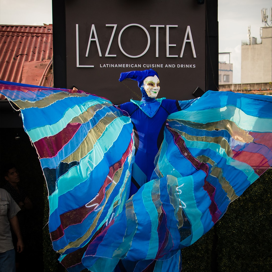 Entertainment at Lazotea Restaurant and Rooftop