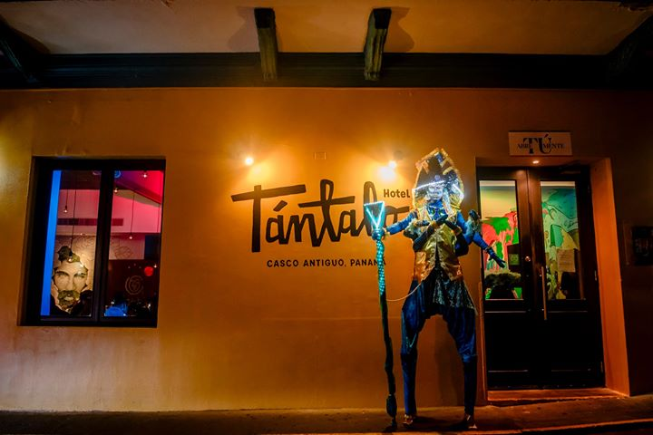 You never know what to expect when going to Tantalo Hotel