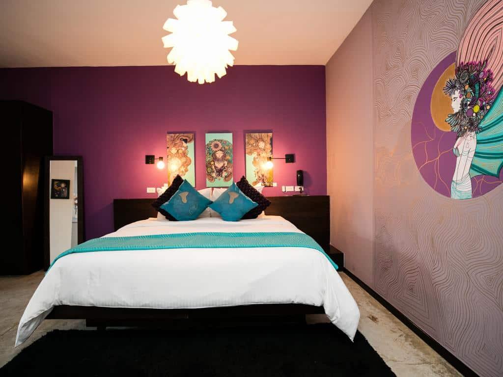 Habitación Aruma en el Hotel Tantalo