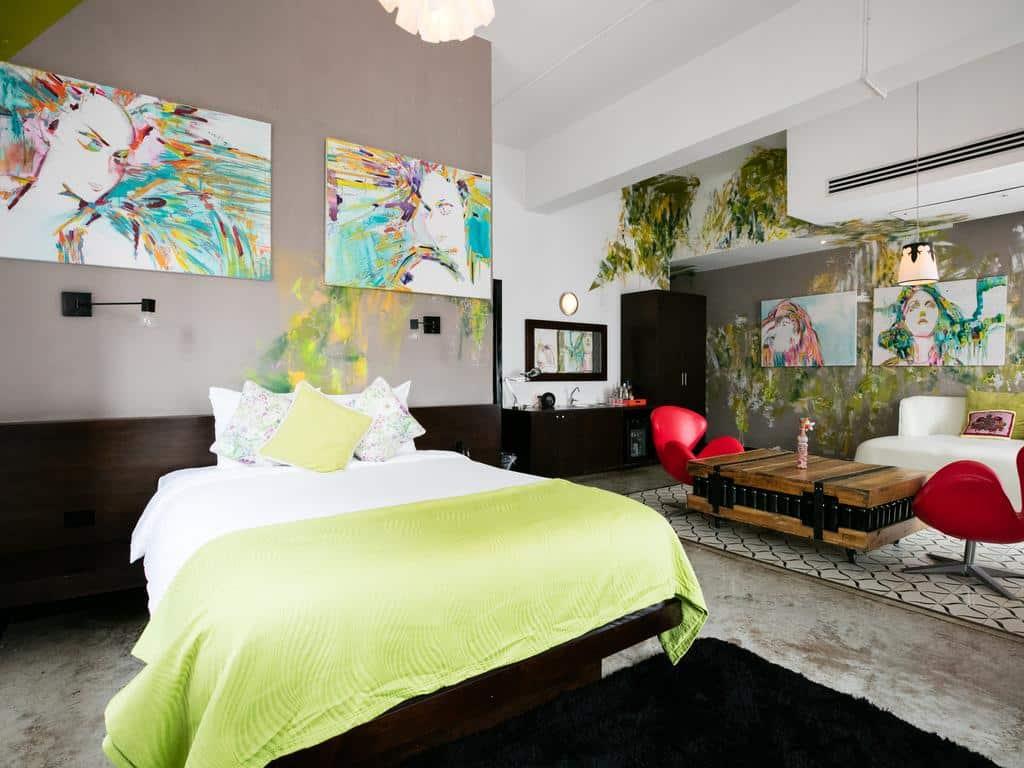 Geo-Orga Suite en Tantalo Hotel