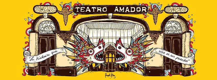local artist design for teatro amador