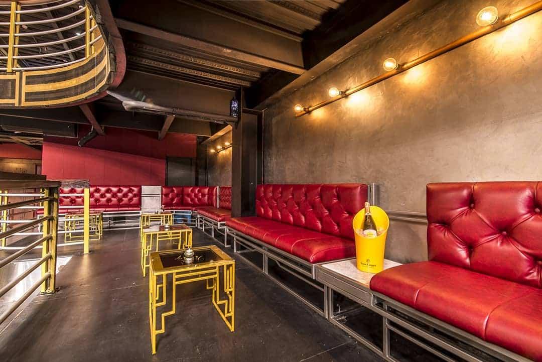 VIP area of Teatro Amador night club